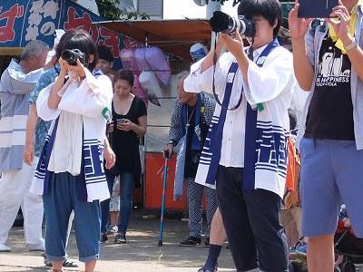 天神社のお祭り