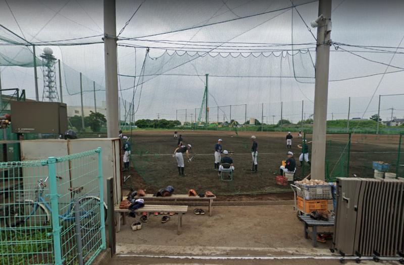 野球部専用グラウンド